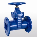 DIN3352 F5 Non-Rising Stem Resilient Seated Gate Valve TypeB