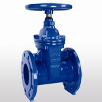 BS 5163 Non-Rising Stem Resilient Seated Gate Valve