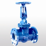 DIN3352 F5 Rising Stem Solid Wedge Gate Valve