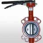 B10W-YX,DN40-DN600 Wafer Type Butterfly Valve with Pin