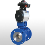 Structural Ceramics Ball Valve(pneumatic drive)