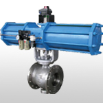 Hard Wearing Eccentric Semi-ball Valve