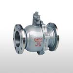GB/DIN Floating Cast Steel Ball Valve PN16/PN25