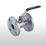 PC Ball Valve 10K/150LB Flange End Reduce Bore