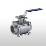 3PC Stainless Steel Ball Valve Full Port 1000WOG PN64 (ISO-Direct Mounting Pad)
