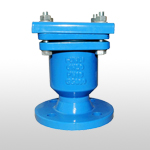 Single orifice air release valves