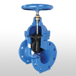 DIN3352 F4 Non-Rising Stem Resilient Seated Gate Valve TypeB