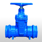 Socket Ends Non-rising Resilient Seated Gate Valve