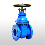 ANSI 125/150 Non-Rising Stem Metal Seated Gate Valve