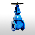 ANSI 125/150 Rising Stem Metal Seated Solid Wedge Gate Valve