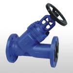 Y-type Globe Valve with Bellow Seal acc. to GB/DIN