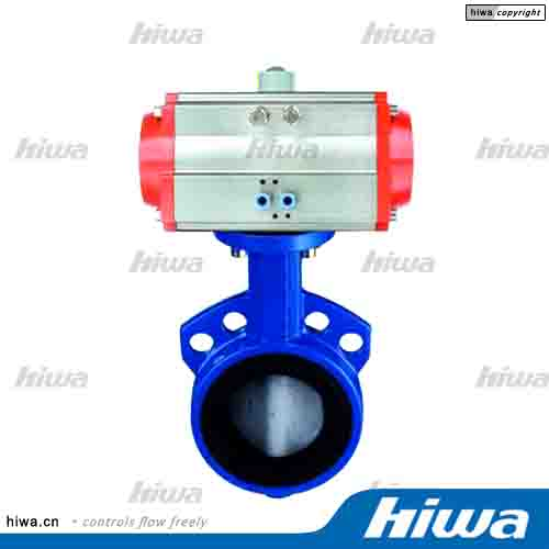 Pneumatic Actuator-6(Wafer Soft Seal Butterfly Valve)