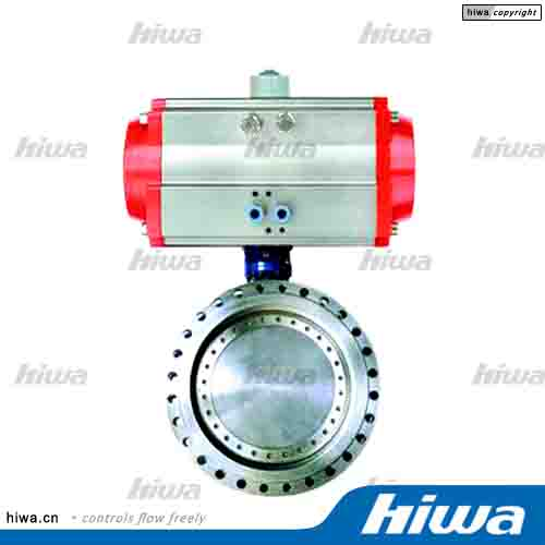 Pneumatic Actuator-7(Flanged Metal Seal Butterfly Valve)
