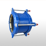 Restrained Coupling for PE/PVC Pipes