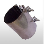 Stainless Steel Repair Clamp -Small Bore Pipe