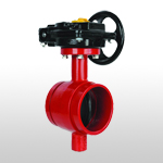 B91 Grooved Butterfly Valve