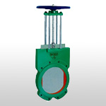 wafer rising stem kinfe gate valve