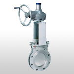 Cast Steel Flange Knife Gate Valve