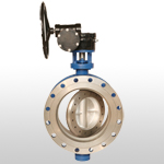 Double Eccentric Metal Seated Butterfly Valve