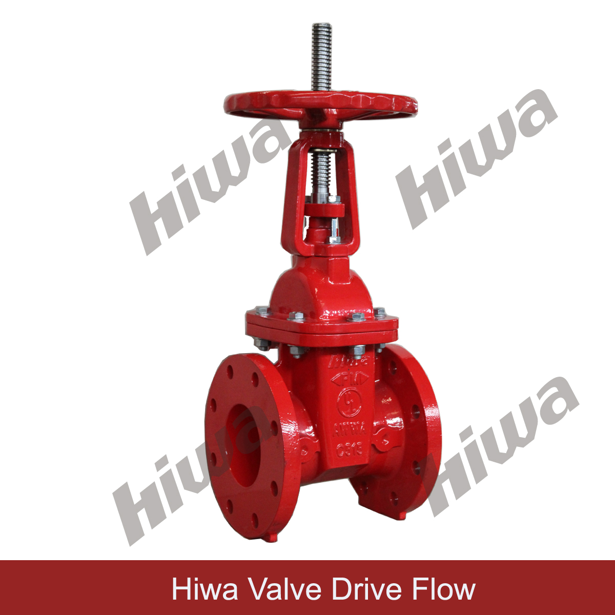 UL/FM OS&Y GATE VALVE, Flanged ends